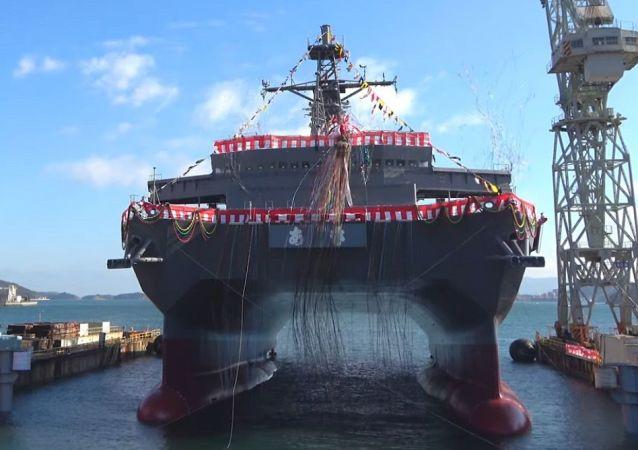 配备SURTASS系统的日本新舰将监视中国潜艇