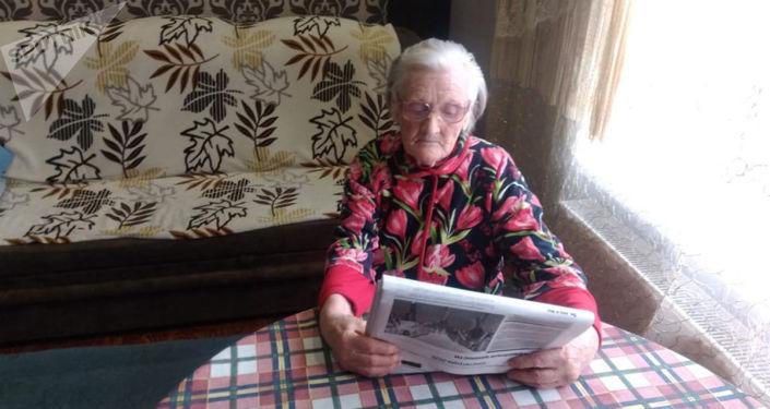 96岁的二战老兵,对世界新闻并不陌生