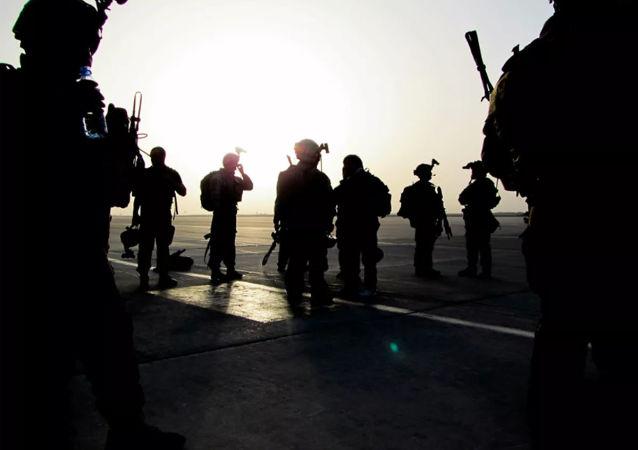 美国军人在阿富汗