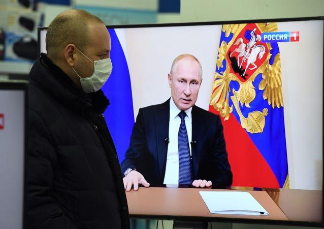 普京在新冠疫情背景下暂无向国民发表讲话的计划