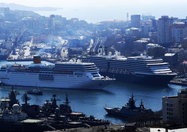 被拒停靠符拉迪沃斯托克港的邮轮已驶向韩国