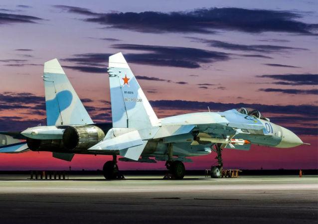俄军苏-27