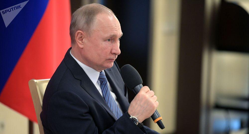 普京总统给出油价下跌原因