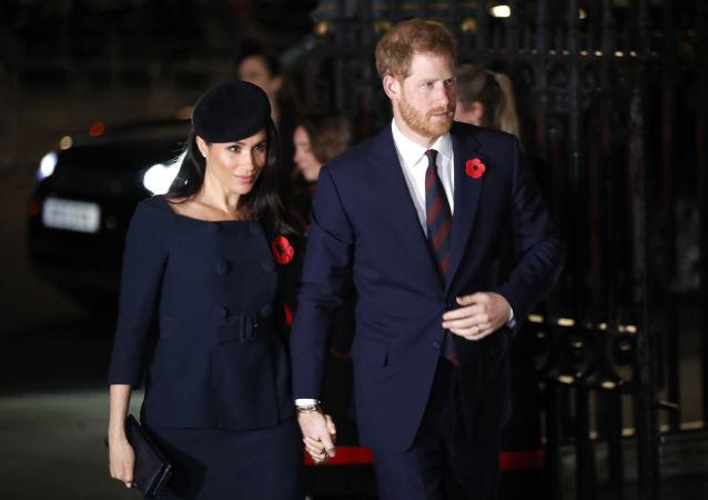 哈里王子与妻子梅根在英国王室官方婚礼前三天已经秘密结婚
