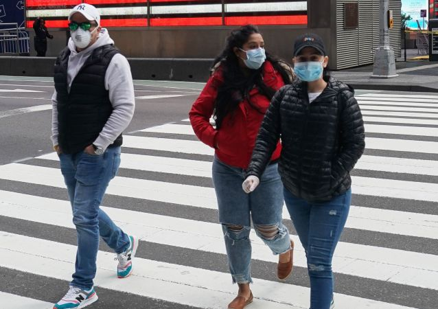 霍普金斯大学:美国新增新冠病毒感染病例超5.7万例