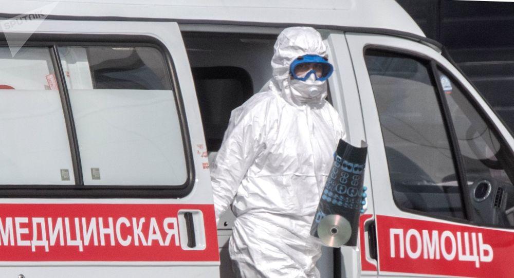 莫斯科新冠病毒感染人数超过800人