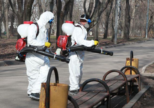 莫斯科副市长:全市第六次大规模消毒开始