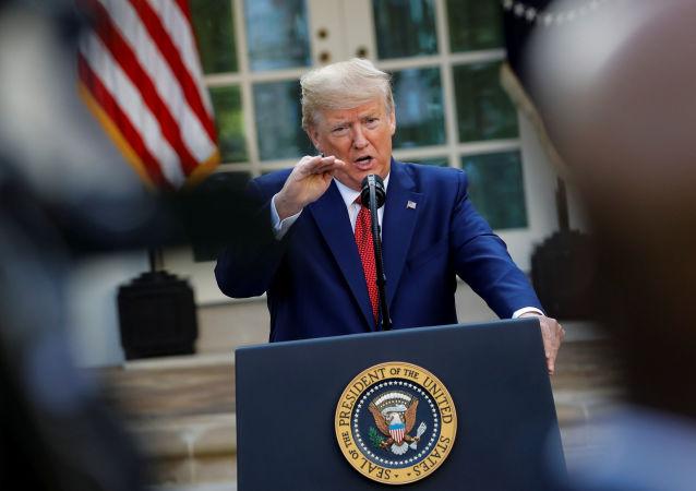 美国总统唐纳德∙特朗普