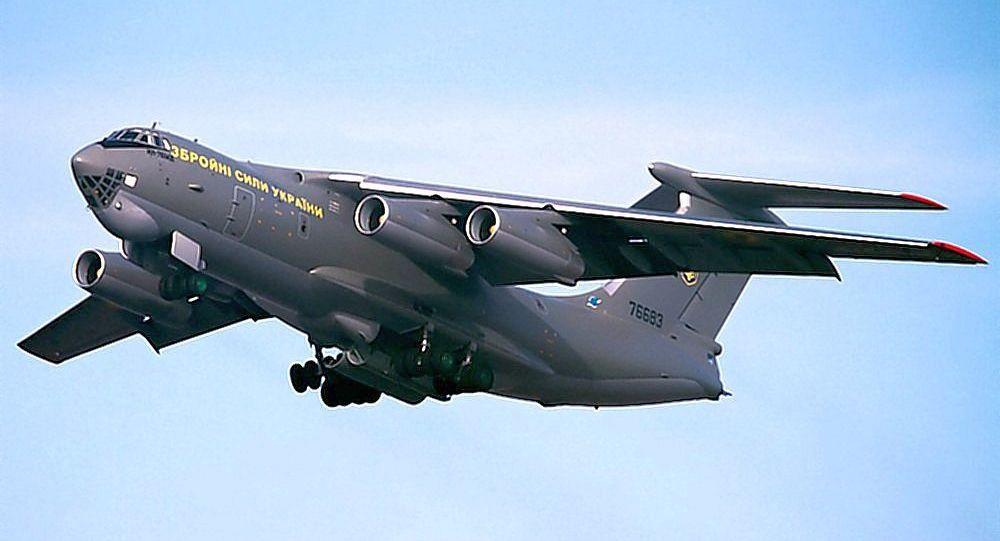 乌克兰武装力量伊尔-76MD运输机