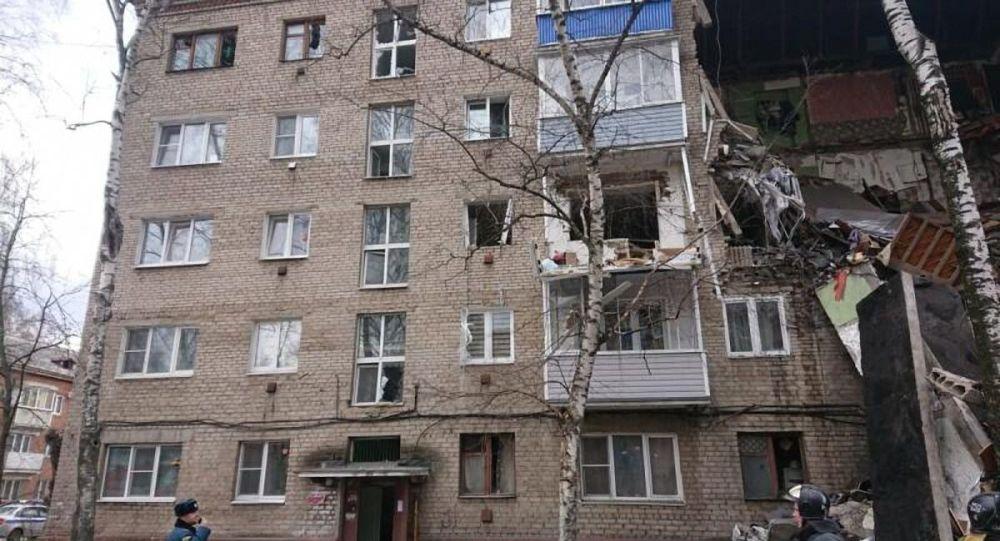 莫斯科州奥列霍沃-祖耶沃市居民楼天然气爆炸事故救援工作已结束