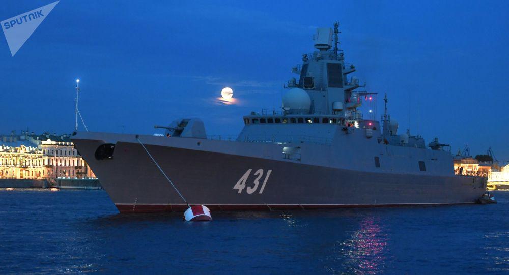 """俄""""卡萨托诺夫海军上将""""号护卫舰在北方舰队完成测试"""