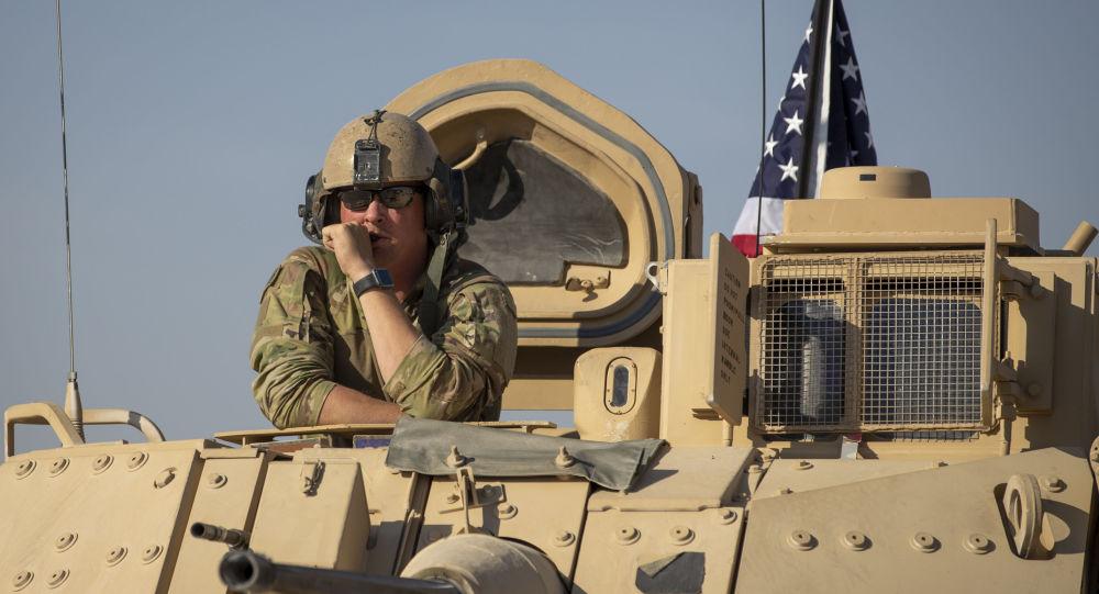 美国军人在叙利亚(资料图片)