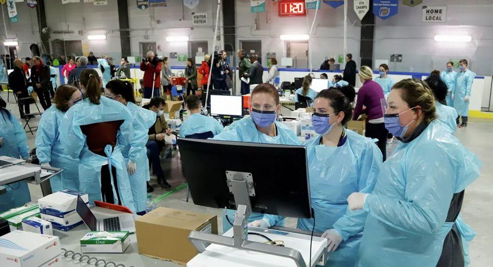 加拿大累计确诊新冠病毒感染病例升至19274例