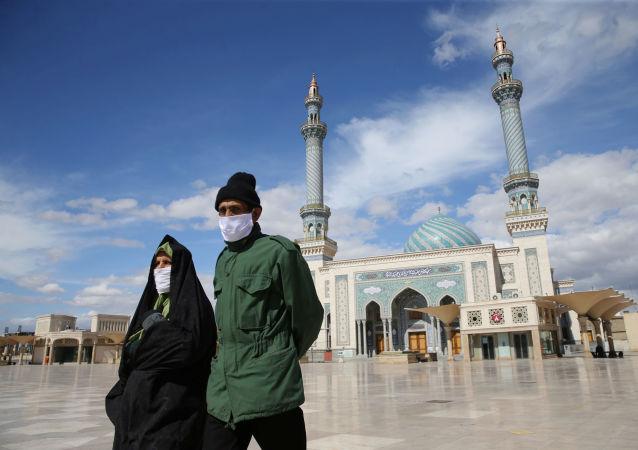 伊朗,新冠病毒