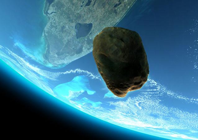 一颗客机大小的小行星正向地球靠近