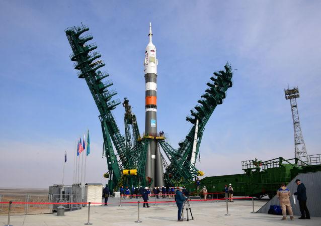 """载有""""联盟""""号超快速飞船的火箭已被运抵拜科努尔航天发射场"""