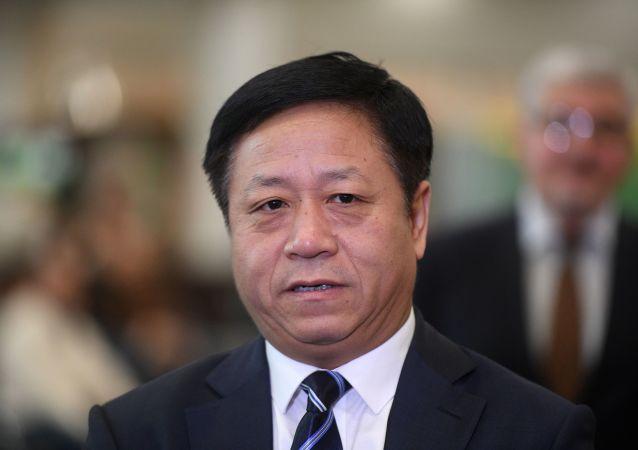 中国驻俄罗斯特命全权大使张汉晖