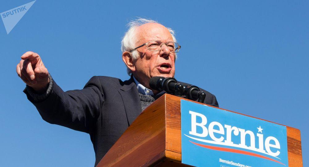 美国参议员伯尼·桑德斯宣布暂停民主党总统竞选活动