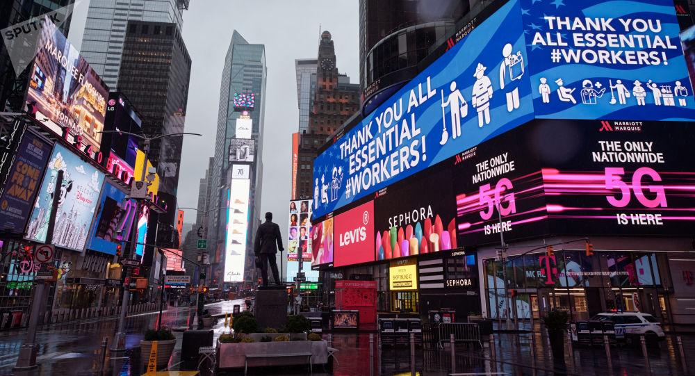 美国纽约州新冠病毒单日死亡病例达799人