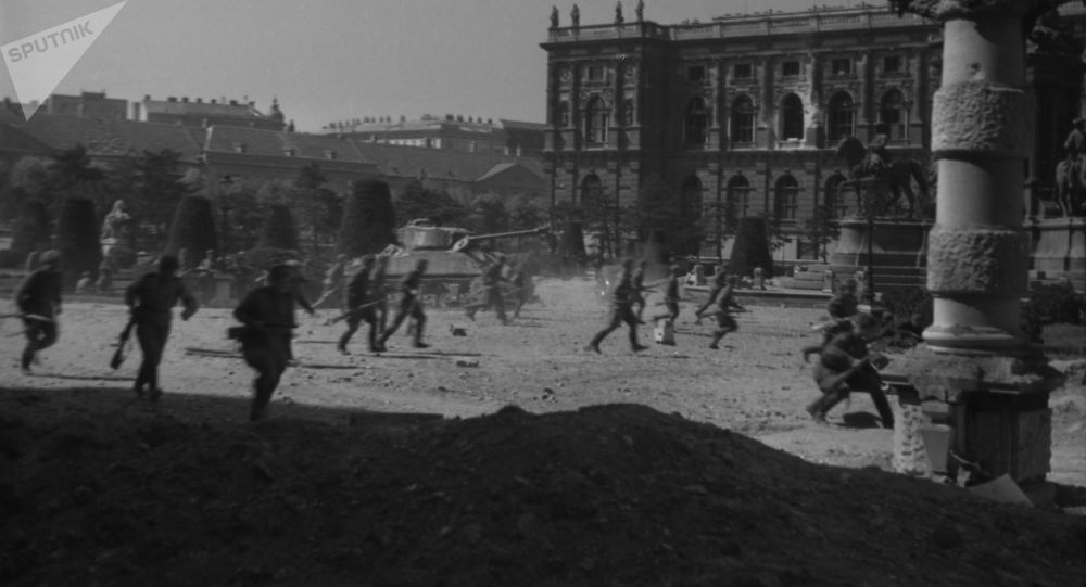俄国防部在维也纳解放75周年之际公布解密文件