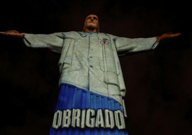 里约热内卢科科瓦多山上的基督像