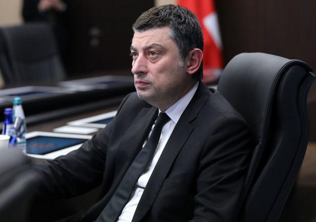 格鲁吉亚总理加哈里亚