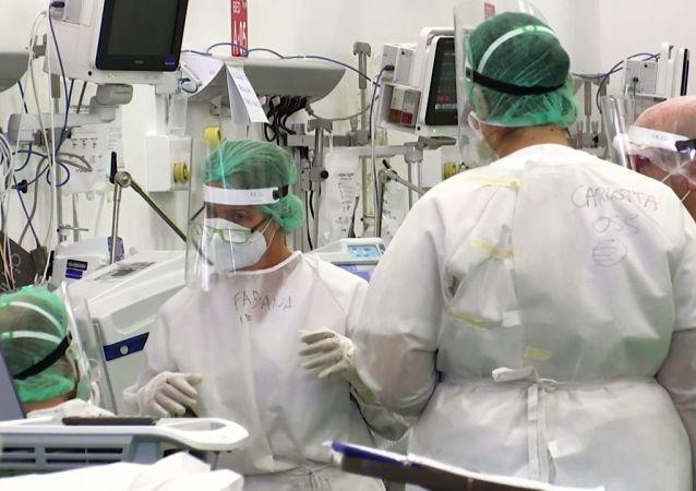 俄国防部在哈卡斯部署流动医院并全面投入运行