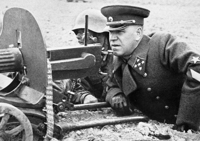 苏联统帅朱可夫