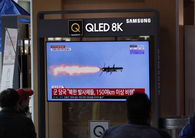 日本政府指出朝鲜导弹飞行距离