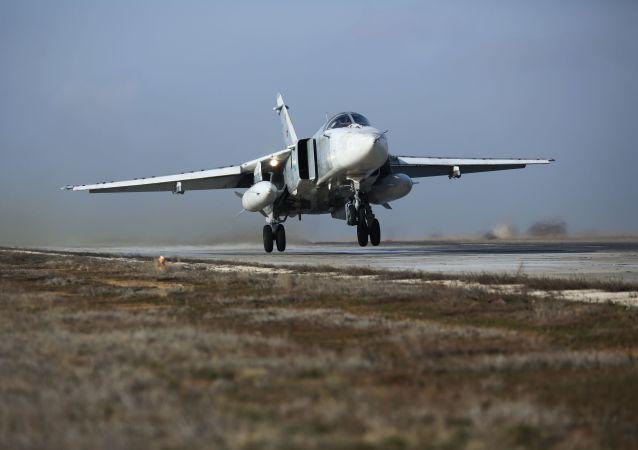 俄罗斯苏-24m轰炸机