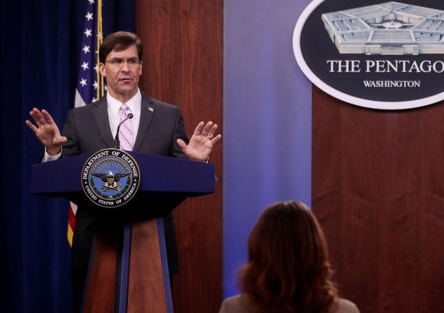 美国国防部长马克•埃斯珀