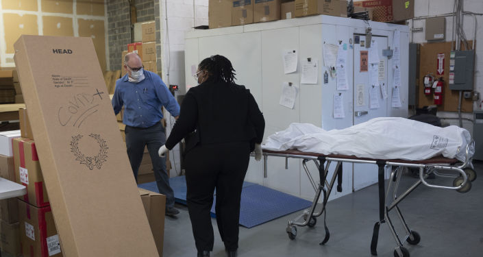 霍普金斯大学:美国24小时内新增超3300例新冠肺炎死亡病例