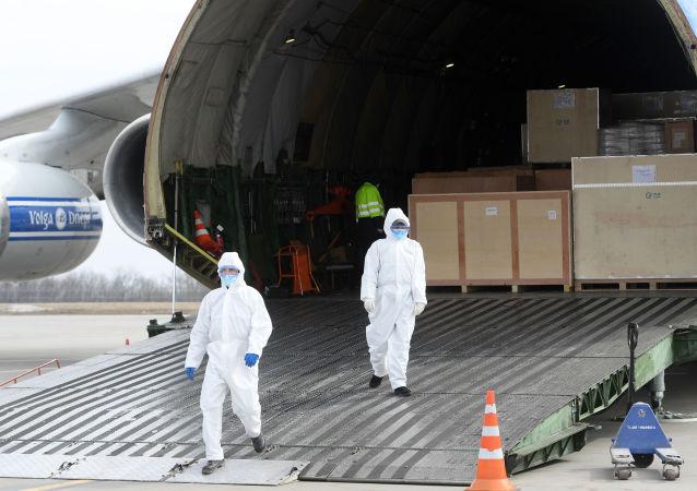 白俄预期从中国获得包括检测COVID-19及防护物资的新一批人道主义援助