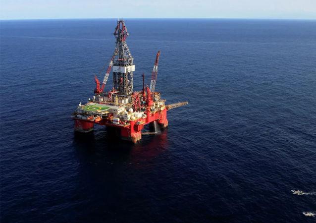 墨西哥湾石油钻井平台