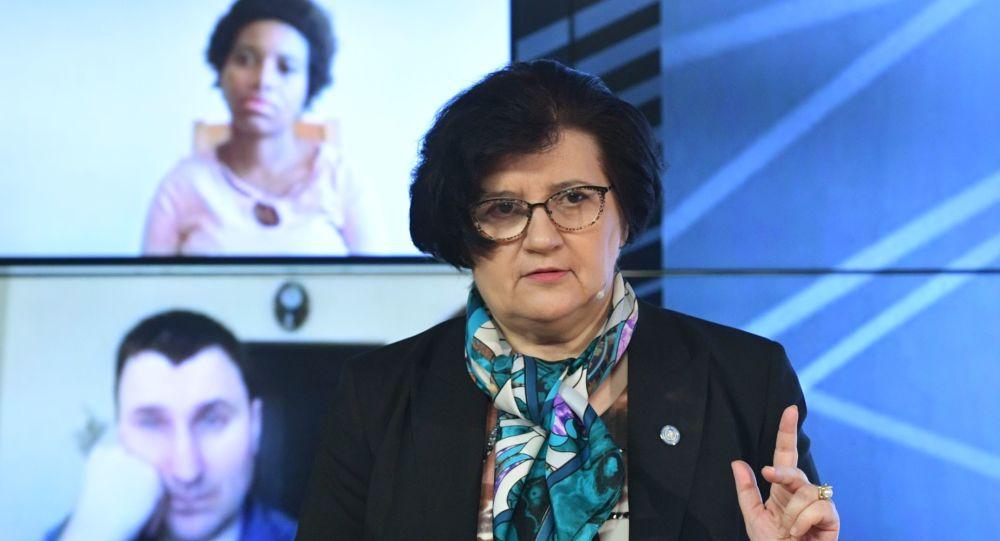 世界卫生组织驻俄罗斯代表梅利塔∙武伊诺维奇