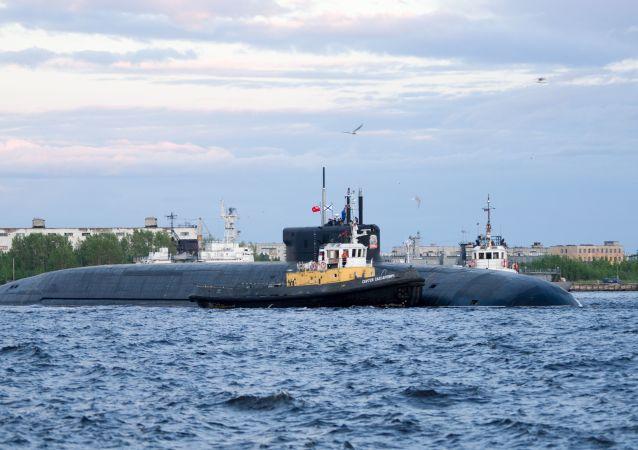 俄核潜艇(资料图片)