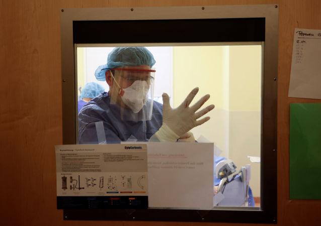 罗伯特·科赫研究所:德国过去24小时新增确诊新冠病毒感染378例