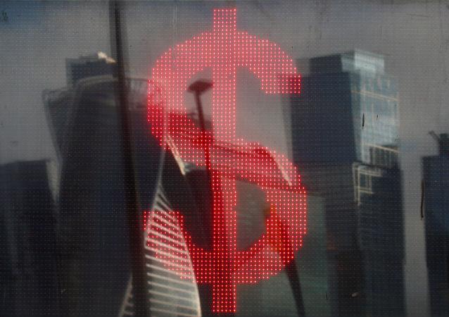 俄罗斯今年10月对美国政府债券的投资额从59.6亿增至61.55亿美元