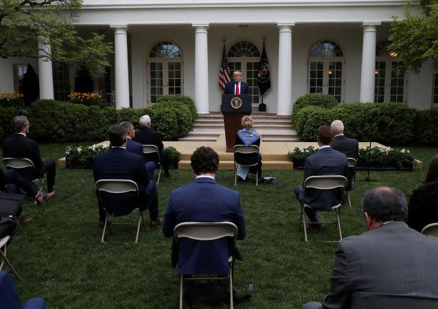 """白宫正因新冠病毒疫情考虑""""惩罚""""中国的方案"""