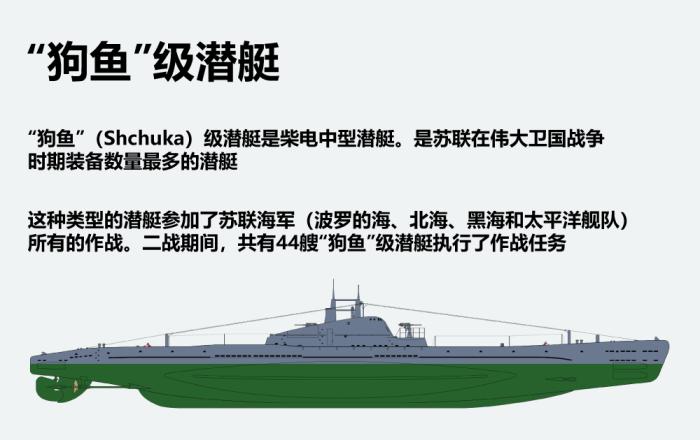 """""""狗鱼""""级潜艇"""