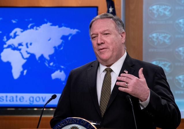 """蓬佩奥称美国有""""大量证据""""说明冠状病毒来自武汉实验室"""