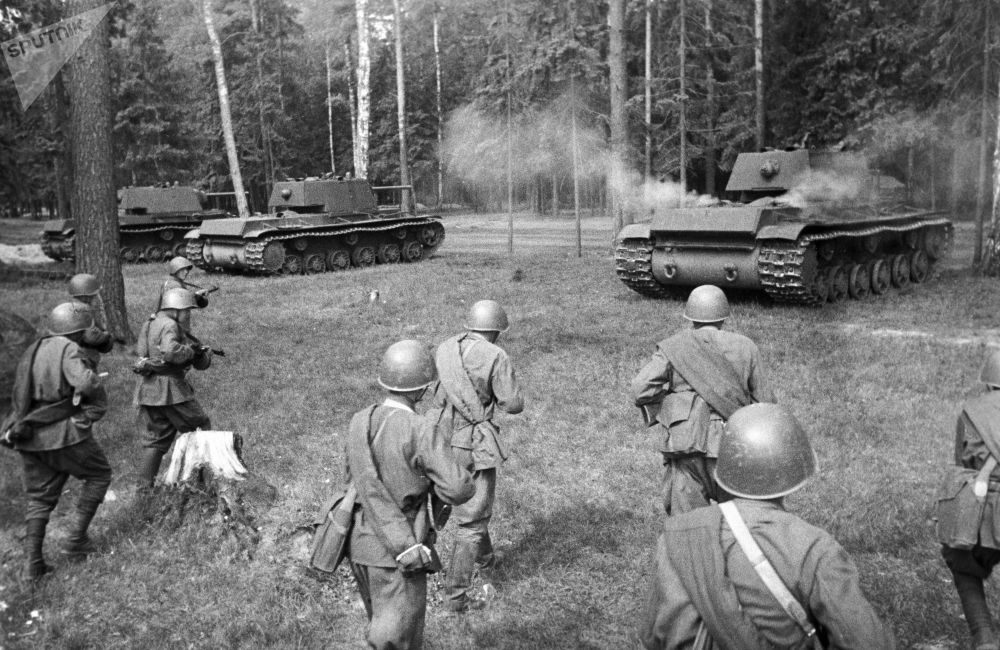 伟大卫国战争时期的传奇苏联坦克