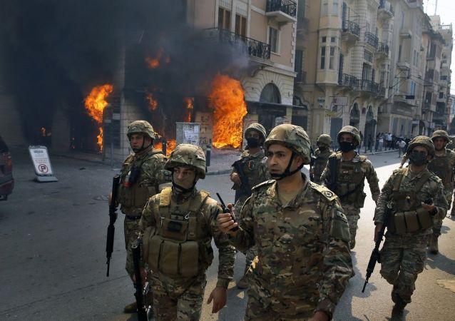 黎巴嫩军人
