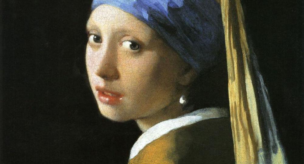 荷兰科学家发现著名画作《戴珍珠耳环的女孩》的几处秘密