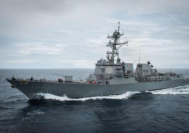 美海军基德号驱逐舰暴发新冠肺炎疫情