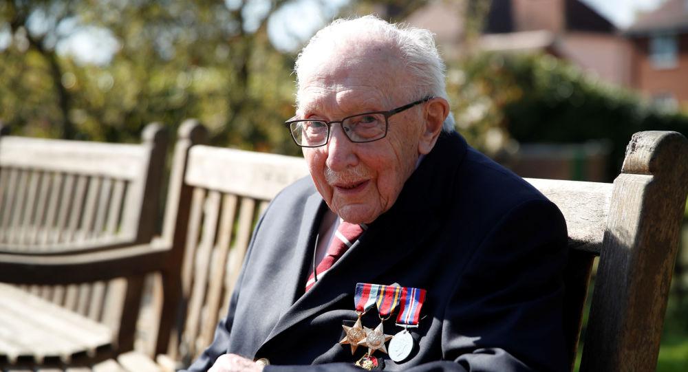 曾为医生筹款的英国百岁老兵去世