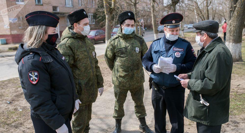 莫斯科州实施禁令以来已发现超过1.3万起违反自我隔离的行为