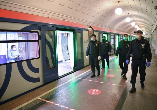 莫斯科地铁警方