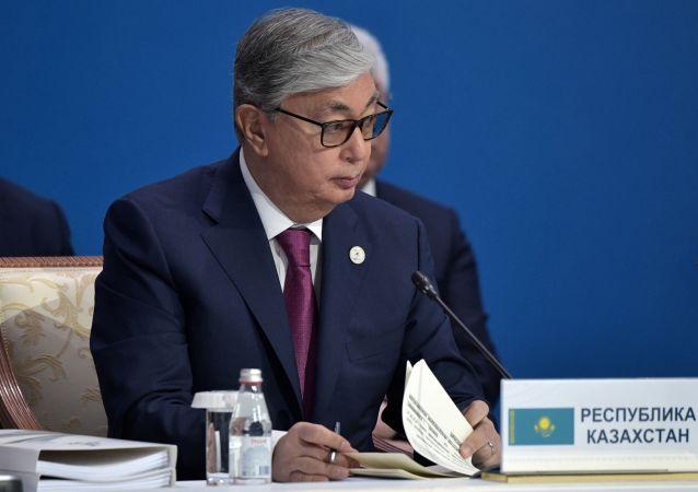 哈萨克斯坦总统:哈高度重视与俄罗斯的盟友关系