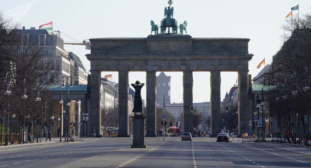 德国柏林勃兰登堡门
